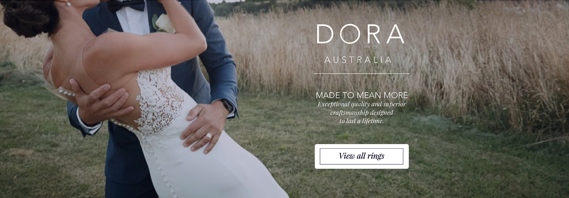 Dora Australia Rings. Made to mean more